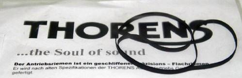 Antriebsriemen für TD 280 III Thorens Plattenspieler Original Flachriemen Belt