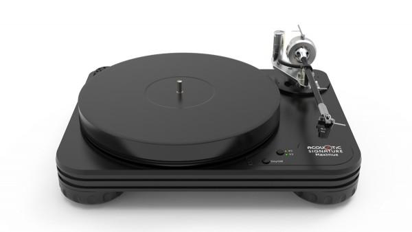 Plattenspieler Maximus NEO schwarz - ohne Tonarm & System - von Acoustic-Sgnature