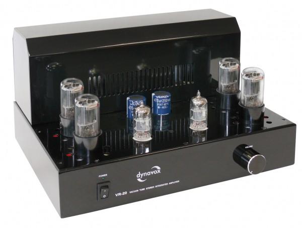 Dynavox Röhrenvollverstärker Röhrenverstärker VR-20 schwarz 2x10 Watt RMS