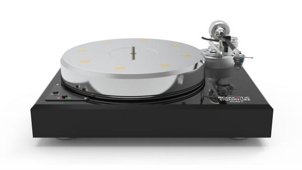 Plattenspieler Double X NEO Schwarz ohne Tonarm & System von Acoustic-Signature